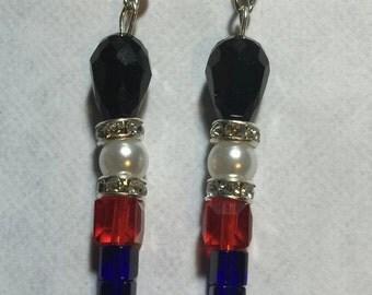 British Royal Guard Earrings