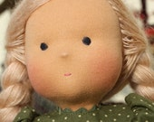 Waldorf doll - Olya- 15-16 inches, daughter of a gift