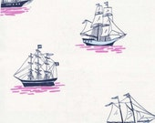 Out to Sea Fabric - Sarah Jane for Michael Miller - My Favorite Ship in Bloom - Fat Quarter, Half Yard or More