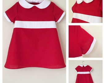 Little Orphan Annie Inspired dress