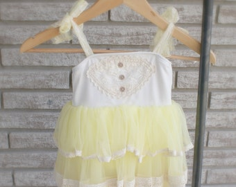 Banana Cream Dress