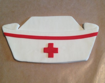 Nurse Cap Cake Topper