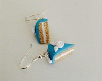 Polymer Clay Cake Earrings