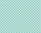 Riley Blake Fabric Modern Minis Modern X Mint - One Yard