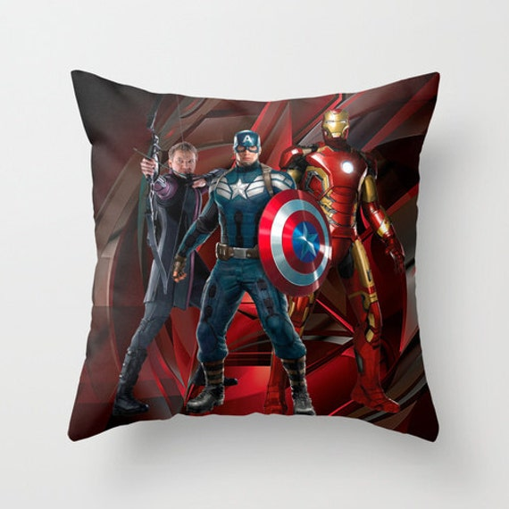 Decor Pillow cover Marvel The Avengers Age of Ultron by NikaLim