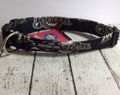 Dog Collar....GO BREWERS...let your critter show their team pride