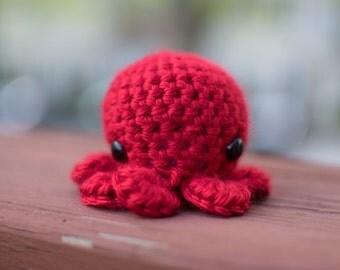 Red Octopus Amigurumi