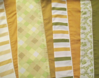 SALE- Vintage Pillowcase Bundle - Olive / Mustard