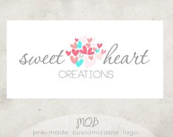 Premade Boutique Logo & Watermark - SweetHeart