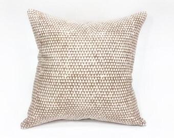 Lulu Triangle Print Pillow 20x20