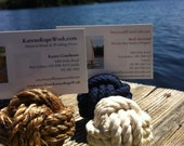 Nautical Name Card Holders - 25 knot placecard/name card holders - great for weddings, anniversaries and dinner parties