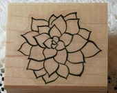Beautiful Flower Rubber Stamp from Stampin Up