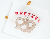25 Vintage Style Pretzel Bags | Flat Bags 6 3/4 x 7 Inches | Party Bags |