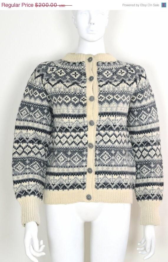 ON SALE Norwegian Wool: Norway Wool Sweater Norwegian Fair