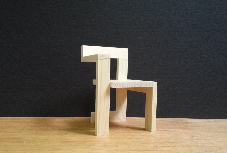 Gerrit Rietveld Steltman Chair Modello Di Mobili Da