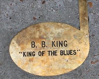 King of the Blues, Fine Art Photograph, Blues Music, Memphis Music, B. B. King, Delta Blues, Beale Street, Memphis