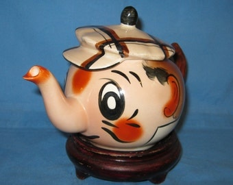 Andy Capp Character Teapot by Wade, England