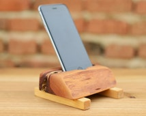 Wood Phone 6 Dock iPhone Charging Station Wooden iPhone Docking Station iPhone 6 Holder Eco friendly