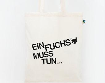 """Jute bag, a Fox..."""