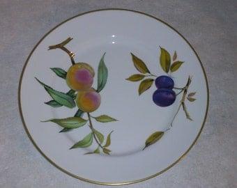 Royal Worcester Evesham Gold Dinner Plate