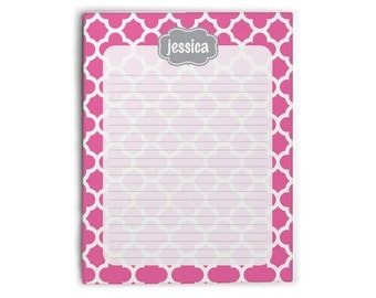 Personalized Monogram Notepad - Design Your Own [DYO]