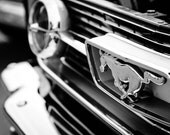 Ford Mustang, ford muscle cars, best car photos, gift for car lovers, ideas for wall décor, classic muscle cars black and white art pictures
