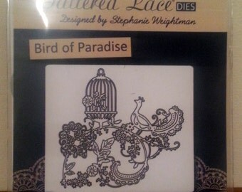 Tattered Lace Die Bird Of Paradise