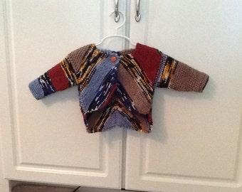 Baby bolero sweater