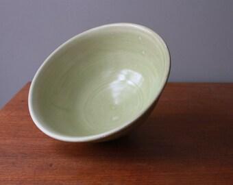 Light Mint Green Serving Bowl