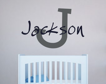 Custom Wall Decal - Personalized Name Decal - Child Name Wall Decal - Child's Name Wall Art 0031