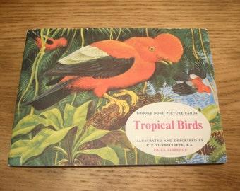 Vintage 1960s Brooke Bond PG Tips tea card album - Tropical Birds