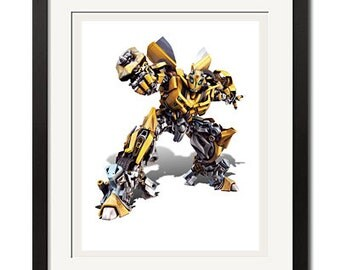 Transformers Autobot Bumblebee Poster Print 0059