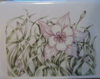 Lavender Flower Cards (All Cancer)