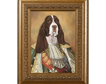 Dog Magnet, James, English Springer Spaniel,  Refrigerator Magnet
