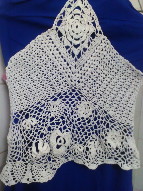Irish crocheted top