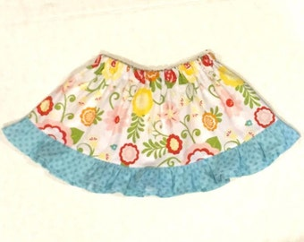 Twirl Skirt - Girl's Skirt - Skirt - Toddler  Skirt - Girl's Skirt - Ruffle Skirt