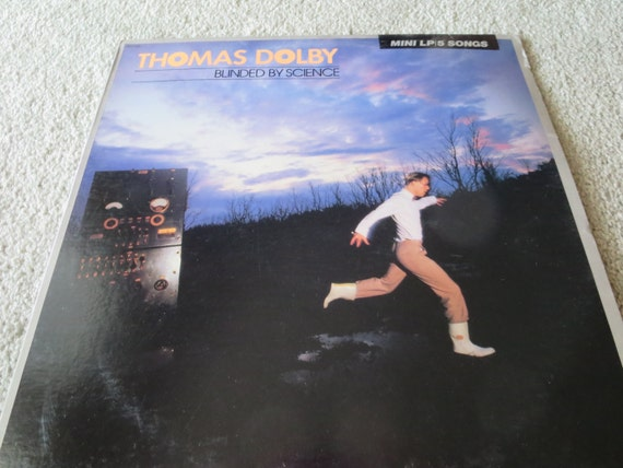 David Jones Personal Collection Record Album - Thomas Dolby - Blinded By Science