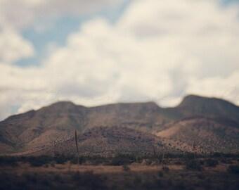 Summer in the Whetstones - Photographic Print - native, southwest, american, Arizona, sierra vista, blue, wanderlust, travel, mountains