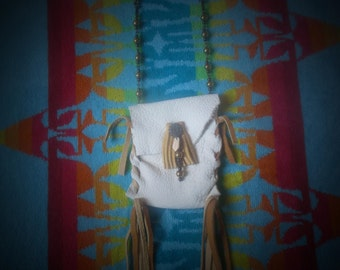 Summer Trails Leather Pouch