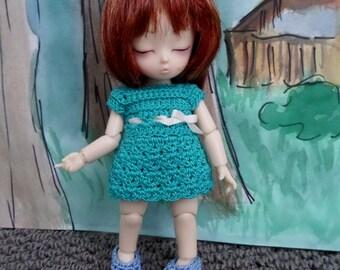 Crochet Dress for AI BJD