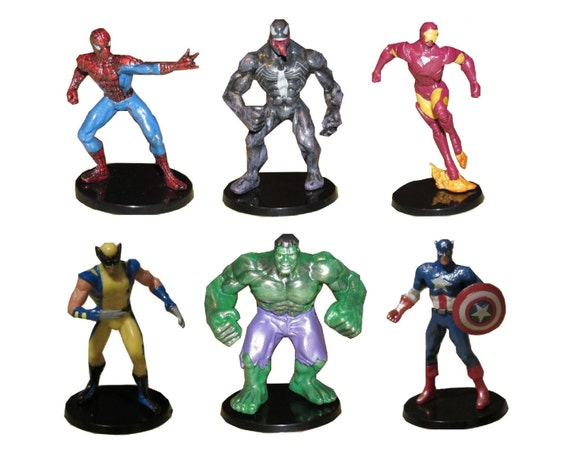 Avengers Cake Toppers Figures