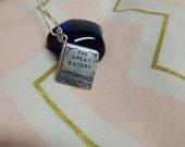 The Great Gatsby Book Charm Sterling Silver Necklace