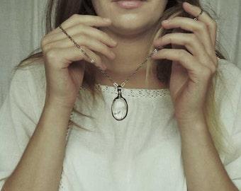 terrarium necklace, sale, mariaela, bridesmaid gift, rustic bride, dandelion necklace, dandelion jewelry, hotness, trendy necklace, wedding