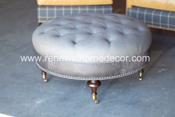 Custom Order Tufted Upholstered Ottoman Coffee Table