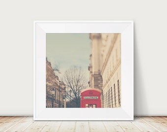 london photograph red telephone box photograph telephone booth architecture photograph london travel photograph winter in london photograph