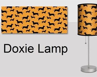 Dachshund Lamp, Wiener Dog Lamp