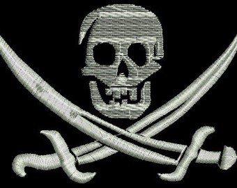 jolly Roger - Machine Embroidery design