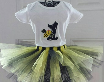 Bumble Bee Birthday Outfit