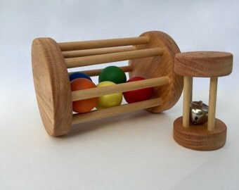 Montessori Ball and Bell Cylinders