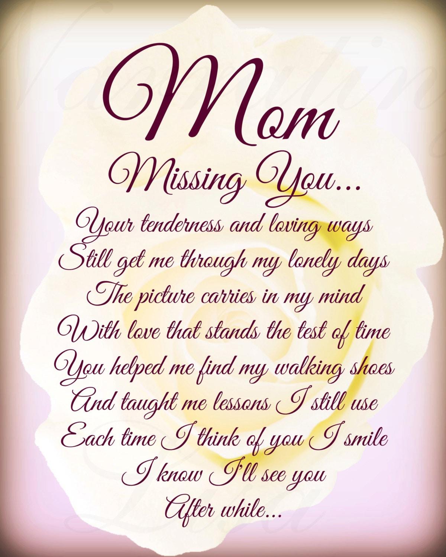 Loving Mom Poems 100